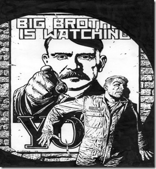 1984 ORVEL Big Brother IS WATCHING YOU